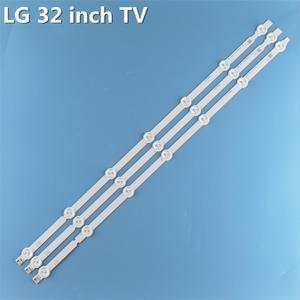 Image 2 - Nowy oryginalny 3 sztuk/zestaw 7LED B1/B2 Type listwa oświetleniowa LED dla LG 32LN541V 32LN540V 6916L 1437A 6916L 1438A LC320DUE SF R1