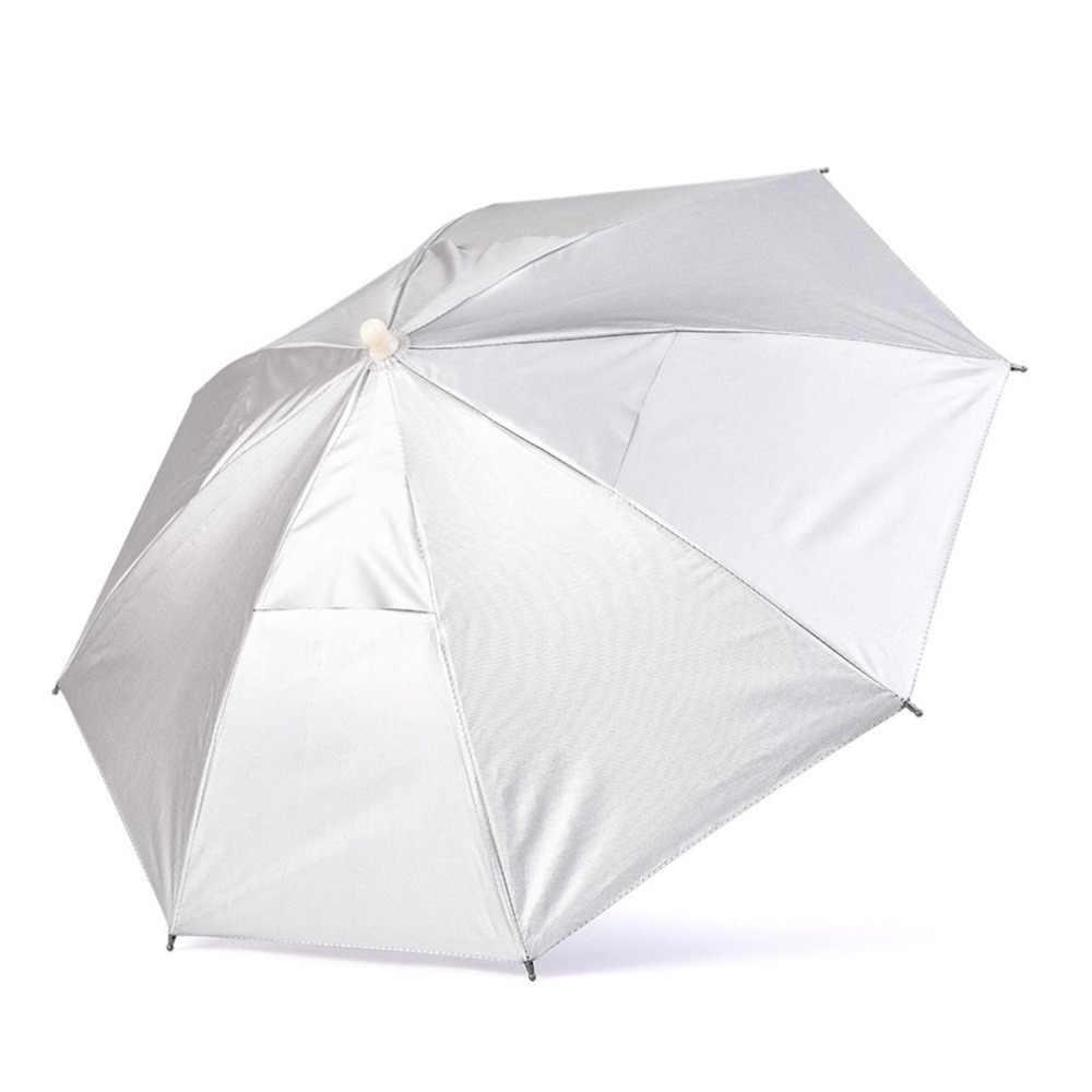 32fce733a4c79 ... Foldable Head Umbrella Hat Anti-Rain Outdoor Fishing Caps Portable  Travel Hiking Beach Fishing Umbrellas ...