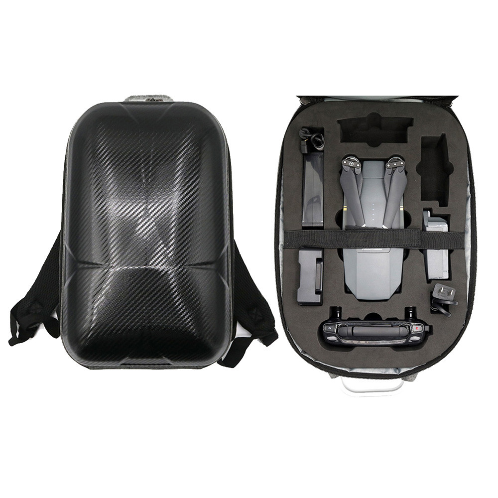 цены Drone Hard Shell Carrying Backpack bag Waterproof Anti-Shock Case For DJI Mavic Pro 6M17 Drop Shipping