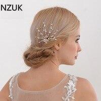 Kristall Perlen Pageant Kopfschmuck Blumen Braut Haar Strass Prom Kopfschmuck Brautjungfer Mädchen Hochzeit Haarschmuck HP30