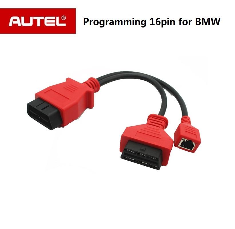 Autel Auto Câble de Programmation pour BMW Ethernet câble pour AUTEL Maxisys pro ms908p et Autel Maxisys Elite 16 pin Câble