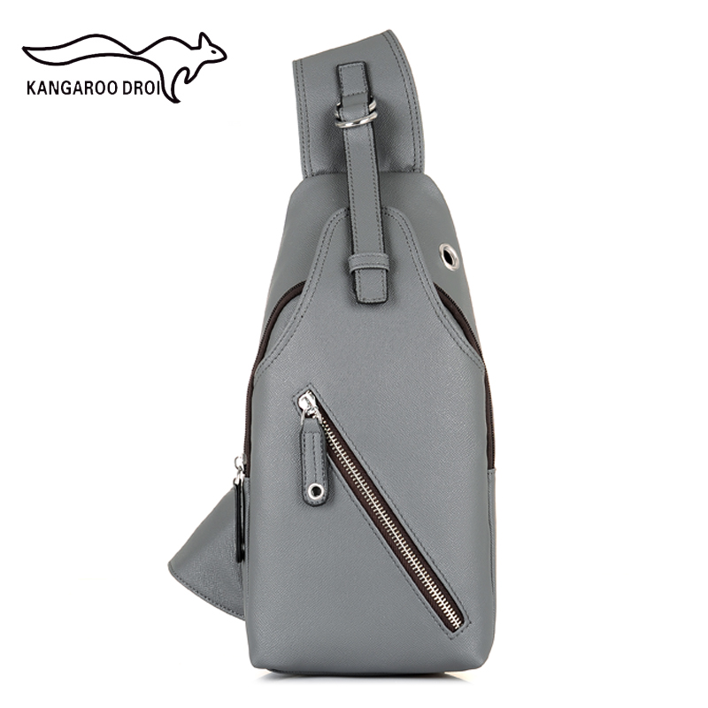 New Arrival High Quality Mens Chest Back Pack Casual Cow Leather Travel Bag Man Single Shoulder Strap Crossbody Messenger Bags аккумулятор 18 в 6 3 а ч li ion bosch 1600a00r1a