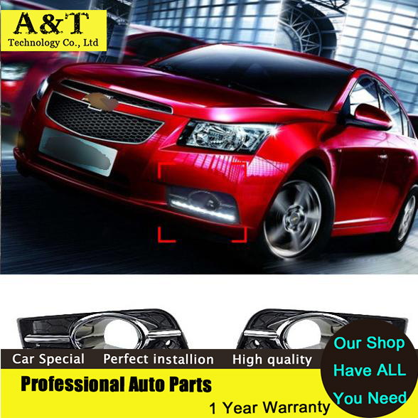 ФОТО car styling Car Styling DRL For Chevrolet Cruze 2009 -2013 Daytime running lights With Turning Signal Free shipping