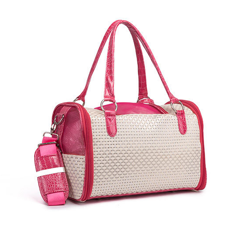 Pet Dog Cat Carrier Purse Airline Handbag Small Animal Travel Sided Kennel Bag  My Pet World Store