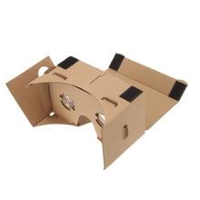 2016 Hot Virtual Reality VR Glasses DIY Google Cardboard VR Box Mobile Phone 3D Viewing Glasses for 5.0″ Screen smartphones