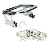 New Two up Tour Pak Pack Luggage Rack &Docking Hardware For Harley Touring 97 08 Road King 1997 2008