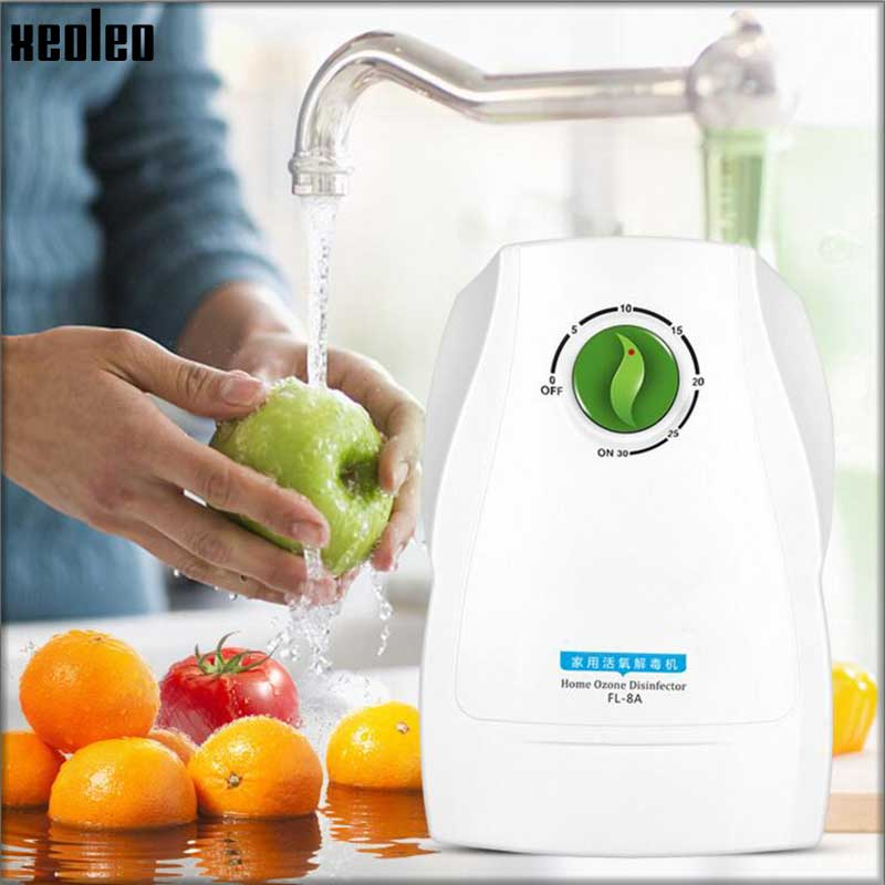 XEOLEO Ozone disinfection machine Vegetable washer Home Air Purifier Automatic fruit and vegetable ozone disinfection machine 220v household fruit and vegetable disinfection machine automatic ozone washing machine decomposition pesticide sterilization