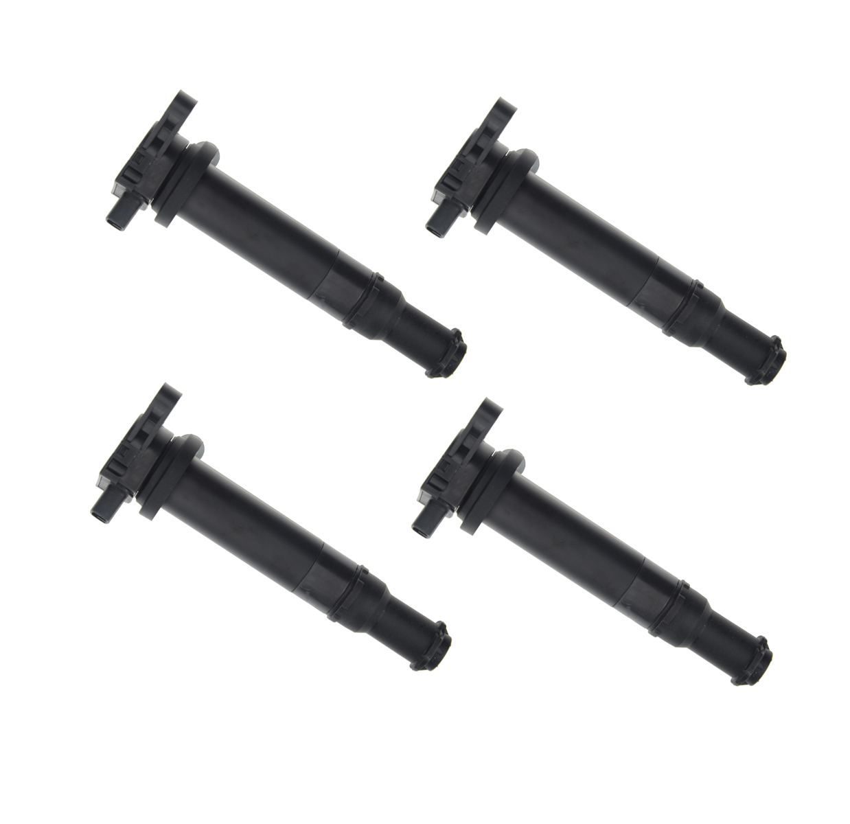 4x ignition coils for hyundai accent kia rio rio5 2006. Black Bedroom Furniture Sets. Home Design Ideas