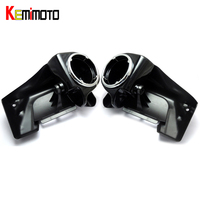 KEMiMOTO Lower Vented Leg Fairings One Pair Of 6 5 Speaker Boxes Pods For Touring 1983