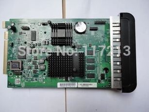 for HP Designjet T610 T1100 Z3100 Formatter board Without HDD Q5670-67001 Q6660-61006 Q5670-60011 Q5669-60175 Q5669-67010 used q6675 67033 new hard drive disk for designjet z2100 z3100 ps 160gb w fw sata hdd q6675 60121 q5670 67001