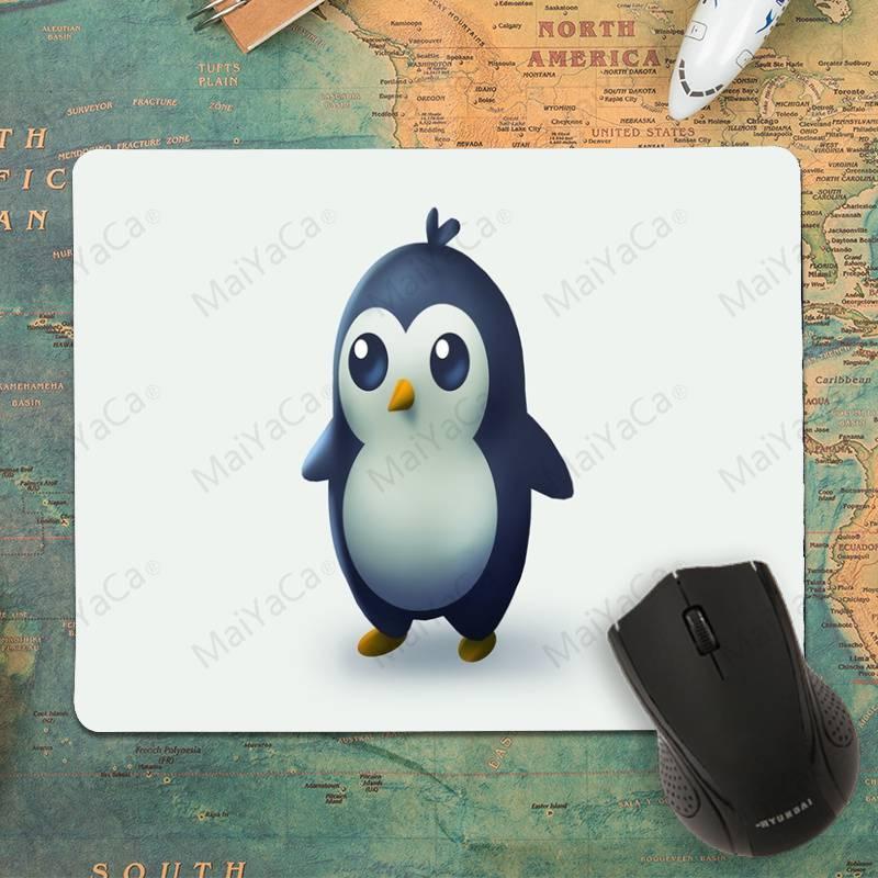 MaiYaCa New Design Baby Penguin Rubber Mouse Durable Desktop Mousepad Size 25x29cm 18x22cm Rubber Mousemats