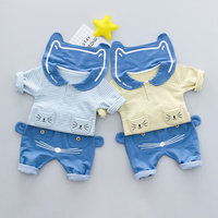 Newborn Spring And Autumn Children S Set A Generation Of Fat Boys And Girls Spring Navy