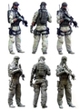 Free Shipping 1/35 Scale Resin Figure U.S.Special Forces Soldier in Afghanistan