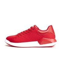 New Arrival Wiosna Lato Oddychające Obuwie Jednolity Niebieski Biały Czerwony moda Buty Dla Mężczyzn Buty Skok Buty Materiałowe Siatki Powietrza Powietrza