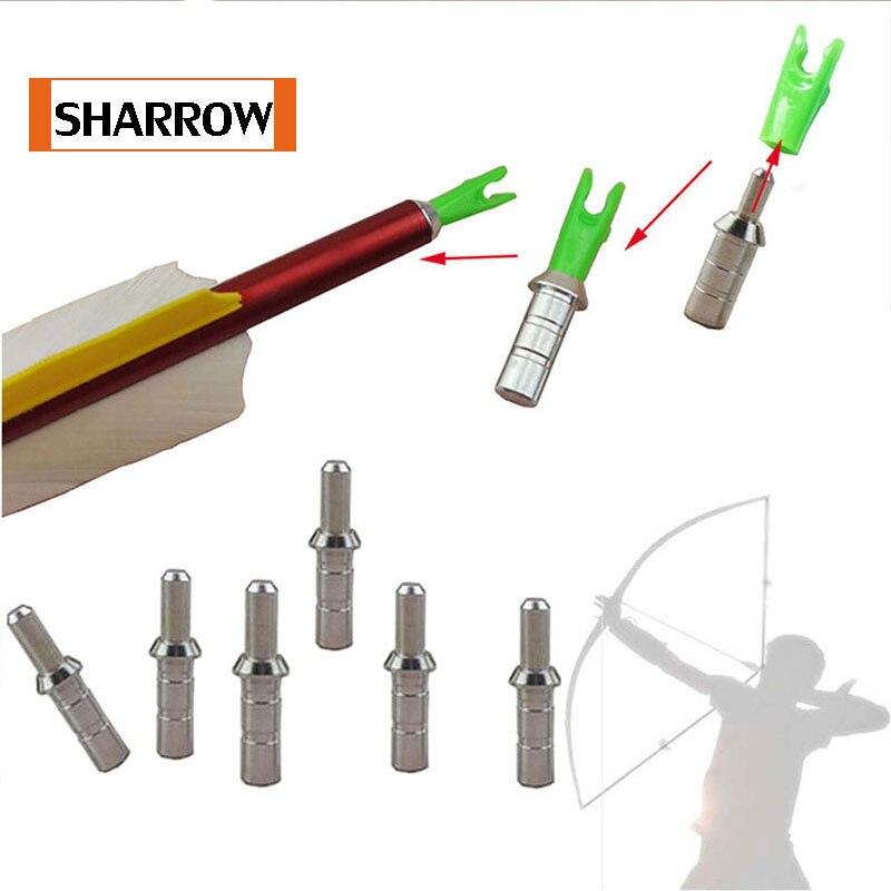 Wholesale 50pcs/lot  4.2mm Pin Nock Adapter Hunting Archery Gold Tip Nock Pin Nock Bushing Needle