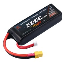 Melasta 14.8V 5000mAh 60C 4S Lipo High Power Battery RC Battey Pack with XT60 PlugConnector for RC Airplane Helicopter Car/Truck
