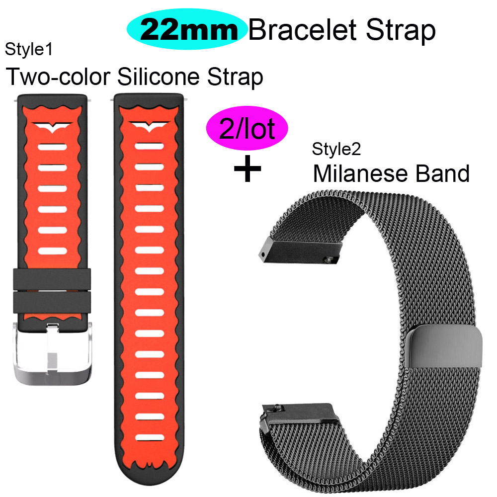 22mm Bracelet Band For Huawei GT Honor Magic Dream Watch Strap For Xiaomi Amazfit GTR 47mm Pace Stratos WristBand For Samsung S3-in Smart Accessories from Consumer Electronics