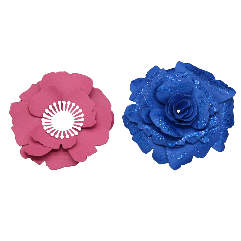 new 3D multi layers Flowers Metal Die Cutting Dies For DIY Scrapbooking Photo Album Decorative Template Combination Embossing