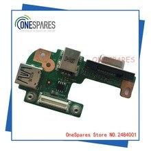 Бесплатная Доставка Оригинальные Ноутбук Для Dell Для Inspiron 15R N5110 DC Jack USB VGA Board 48.4IF05.021 R4M5T DQ15DN15
