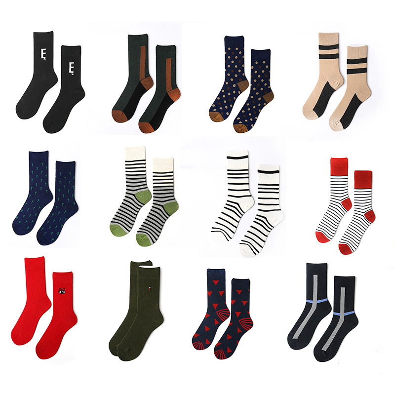 Canjoyn 12Colors Top quality 2018 Women Socks men Clothes Long Happy socks Ankle compression socks gift 1Pairs