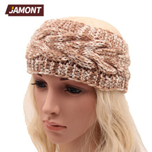 [JAMONT] Beauty Fashion Crochet Knit Headwrap Headband Ear Warmer Hair Muffs Band Winter Q3320