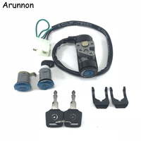 Arunnon Motorcycle Accessories Ignition Switch Lock Key FOR HONDA DIO AF24 giorno The New Ignition lock