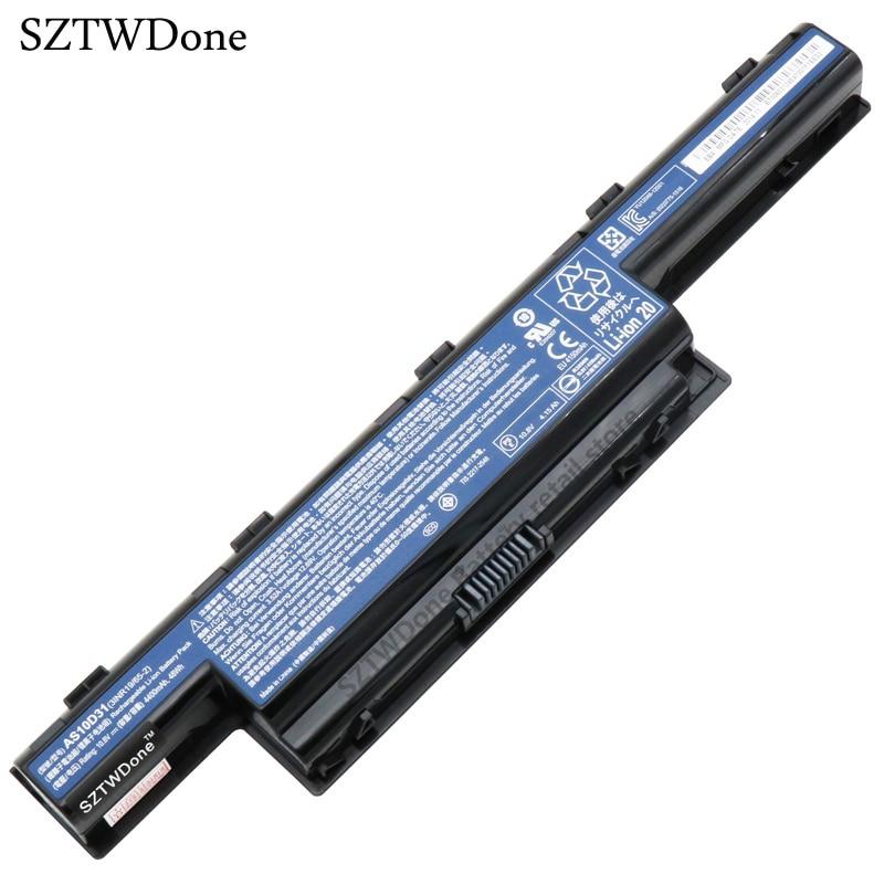 SZTWDone Original AS10D31 Laptop Battery for ACER 4741 5741 5742 5750 4750g 5560G 5742G 5750G AS10D51 AS10D61 AS10D71 AS10D41