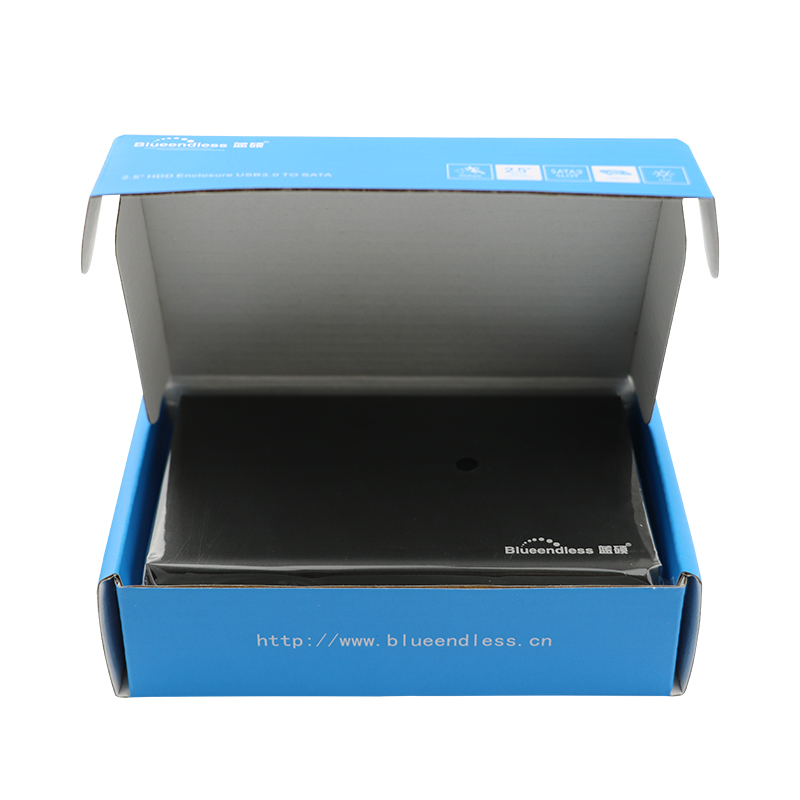2pcs / lot 2 5 pouces disque dur boîtier USB 3.0 ssd sata III - Stockage externe - Photo 4