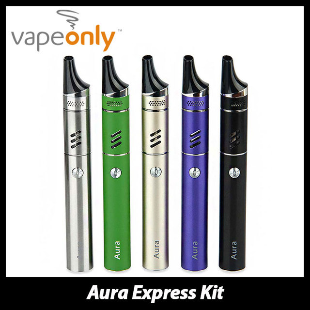 Original VapeOnly Aura E cigarette Kit Built-in 2000mAh Battery & 3ml Tank Atomizer Top Filling with TAC Dual Coils Start Kit
