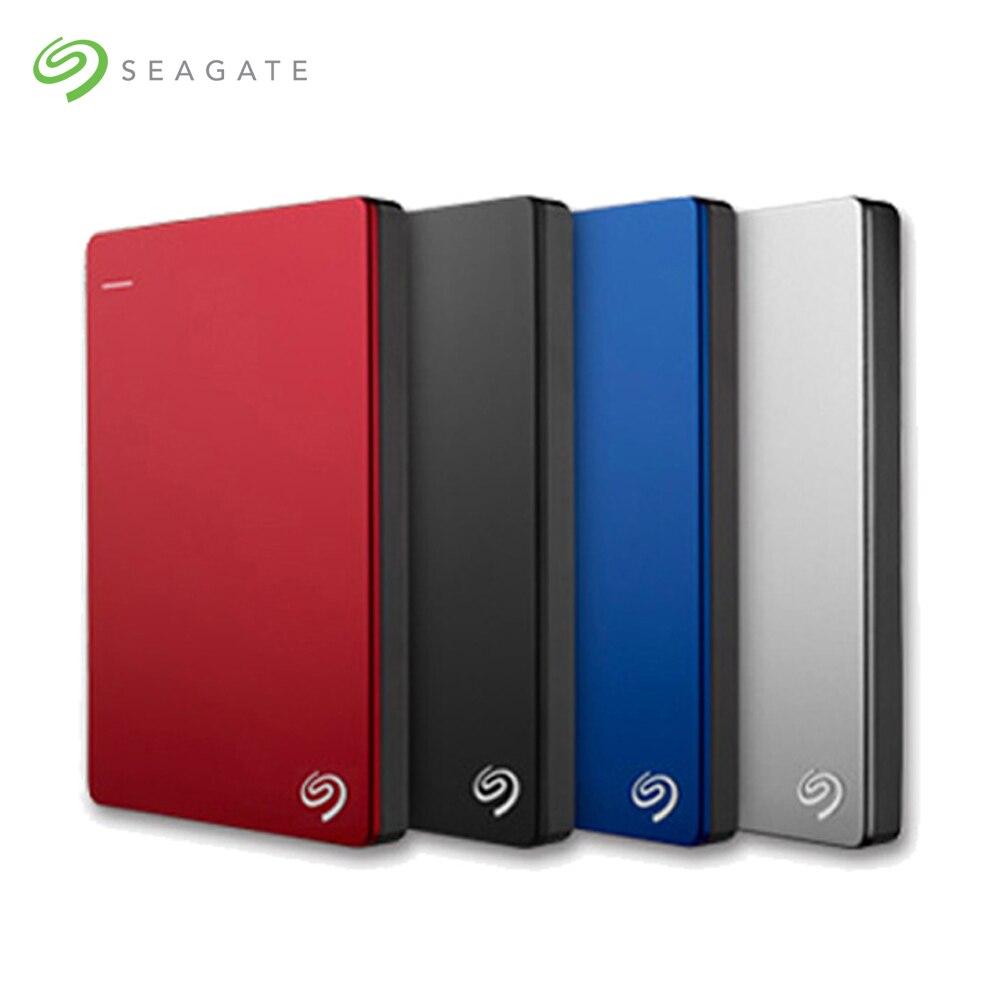 Seagate 1 ТБ 2 ТБ 4 ТБ Backup Plus тонкий внешний жесткий диск USB 3,0 2,5 Портативный жесткий диск диск HDD для рабочего ноутбука сервер