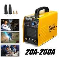 Welding Machine 20 250A 25KVA IP21 Inverter arc Welding Electric IGBT / MMA / ARC / ZX7 Welding Electric Work Digital Display