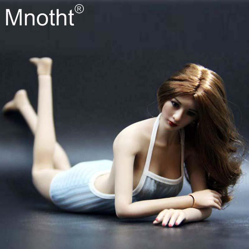 1//6 Figure TBLeague Flexible Female Seamless Big Bust Steel Skeleton Suntan Toy