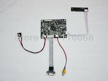 VGA AV LCD Controller Board KYV-N2 V1 for 8 inch TTL 60 pins TFT LCD A080SN01 60Pin 800×600 4:3 Free Shipping
