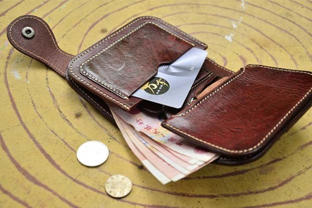 Genuine leather wallet 11