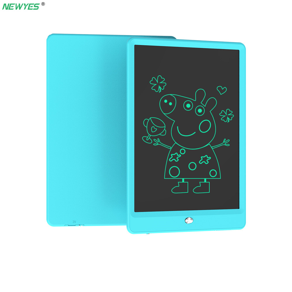 Smart Newyes 10 Lcd Writing Tablet Ultra-thin Board Drawing Toy Digital Drawing Tablet Toy Thick Handwriting Pads Portable Board Computer & Office