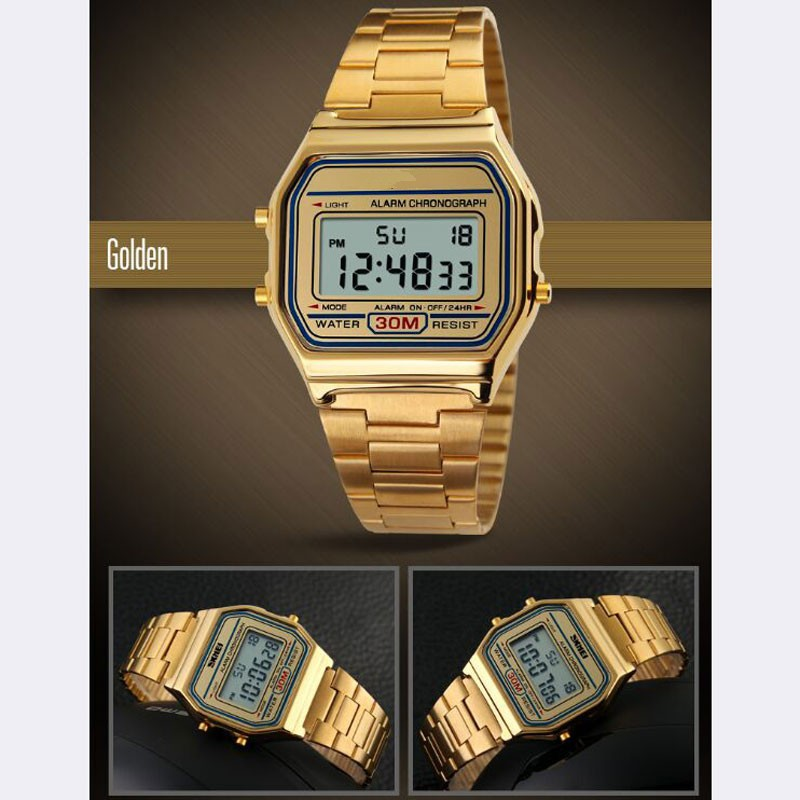 Luxury-Waterproof-3-Colors-LED-Display-Digital-Wrist-Watch-With-Stainless-Steel-Band-Best-Gift-For_