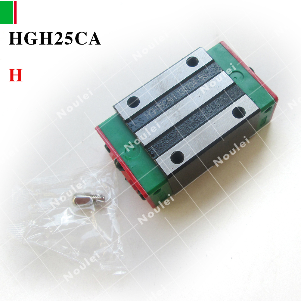 HIWIN HGH25CA slide block class H precision for 25 linear rail CNC kit