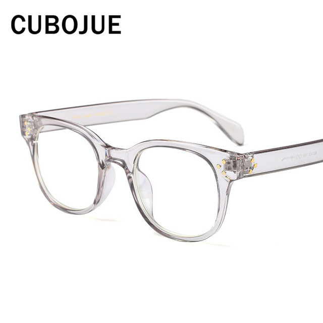 Cubojue Transparent Glasses Men Women Small Face Optical Eyeglass ...