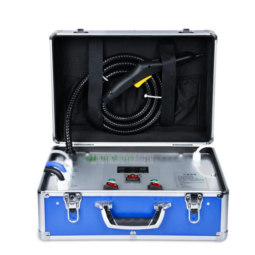 A6 Household Appliance Cleaning Equipment Air Conditioner Lampblack Machine High Temperature Steam Ozone Sterilize Wash Machine