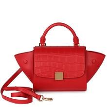 цена Top-handle Bags Handbags Women Famous Brands Women Evening Bags Sac A Main Femme De Marque Genuine Leather Handbags Lily Bag