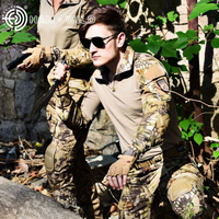 Kryptek Mandrake BDU G3 Tactical Military Uniform Army Military Combat Shirts & Pants With knee pads Camouflage Hunting Clothe