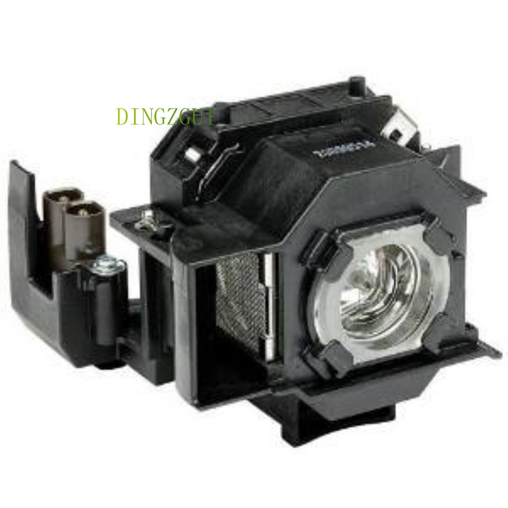 Replacement Original Projector Lamp with housing ELPLP33 For Epson PowerLite S3 EMP-S3, EMP-TW20, EMP-TWD1, EMP-TWD3 Projectors elplp38 v13h010l38 high quality projector lamp with housing for epson emp 1700 emp 1705 emp 1707 emp 1710 emp 1715 emp 1717