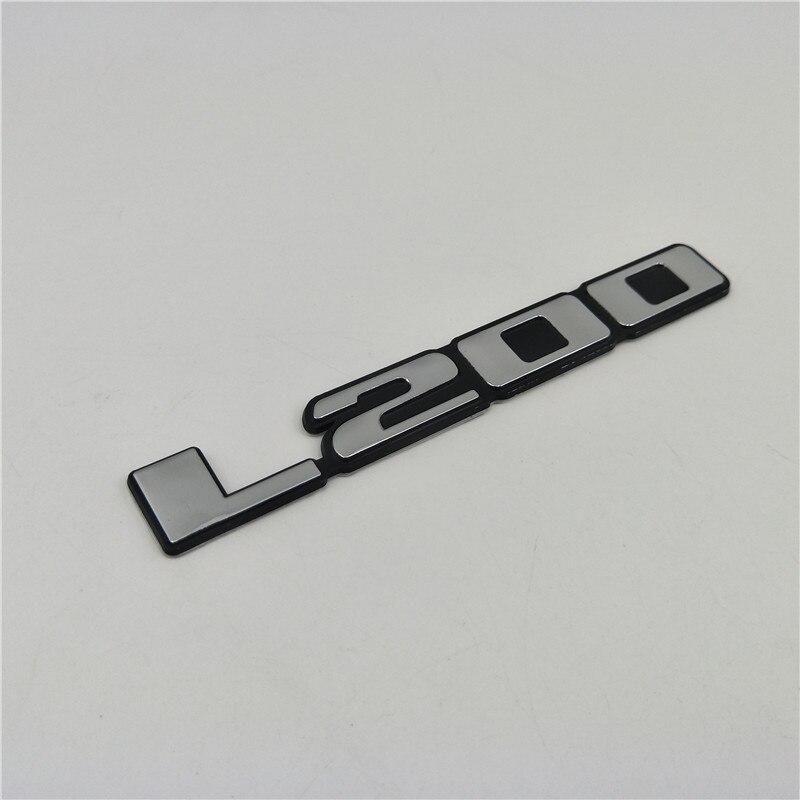 For Mitsubishi Triton LS200 Emblem Rear Trunk Logo Car Stickers