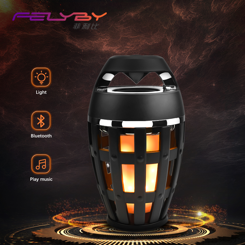 HOT! FELYBY portable bluetooth speaker outdoor USB wireless mp3 speaker powered audio music speakers shockproof subwoofer