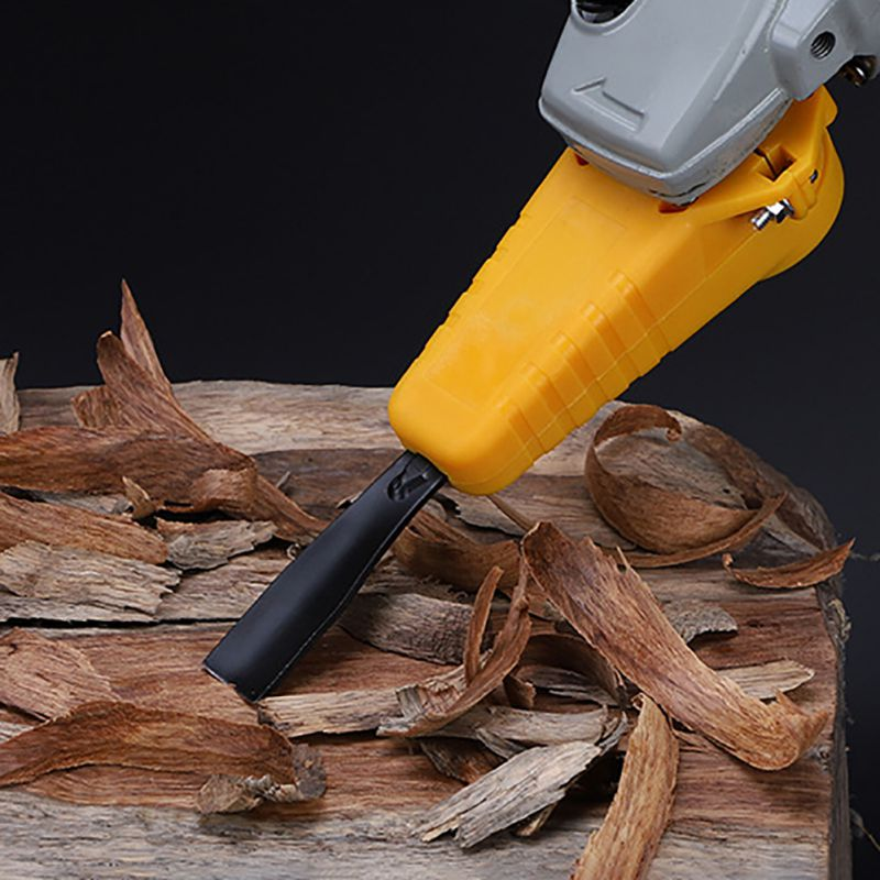Woodworking Carving Chisel Set Household Angle Grinder Refit Kit Wood Carving Power Chisel Woodworking Tool Supplies
