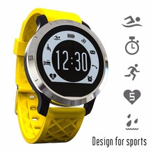 F69 ip68กันน้ำว่ายน้ำsmart watchโทรข้อความเตือนsmartwach androidและios pedometerนอนmonintorติดตามสุขภาพ