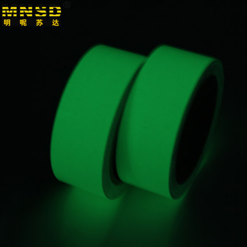 Workplace Safety Supplies 10m 10mm Luminous Tape Self-adhesive Warning Tape Night Vision Glow In Dark Safety Security Home Decoration Tapes