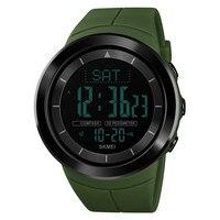 Relógio de pulso digital masculino segredo tempo esportes ao ar livre caminhadas bússola à prova dmulti água multi função juventude personalidade|Relógios esportivos| |  -