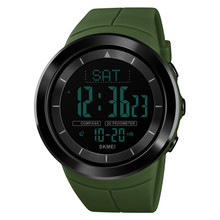 Time Secret mens digital wristwatches  outdoor sports hiking waterproof compass multi-function youth personality watch