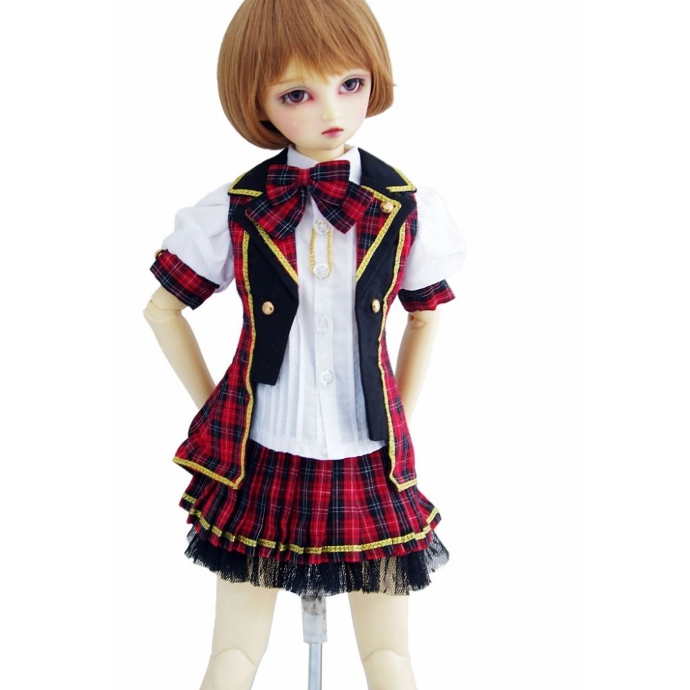wamami 300 Fashion School Uniform Suit For 1 3 Sd AOD DOD BJD Dollfie
